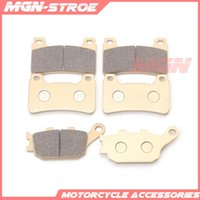 Motorcycle Brakes Front Rear Brake Pads For CBR1000RR 2004-2005 04 05 CBR600RR F5 2005-2006 06