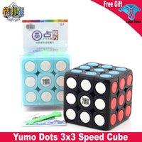 유모 도트 3x3 매직 큐브 부드러운 트위스트 3x3x3 속도 큐브 안티 스트레스 교육 완구 아이들을위한 선물 성인 Cubo Magico