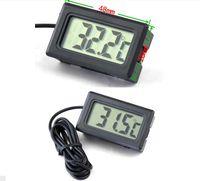 Professinal Mini Digital LCD 온도 계측기 냉장고 용 수족관 냉장고 냉동고 온도계 열차 -50 ~ 110도