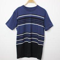 T Shirt Estate 3D Effect Pullover Manica corta Youth Bollarless Collar T-shirt da uomo