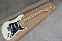 ugfrty jkhg الأمريكية القياسية stratocaster الأبيض strat غيتار كهربائي الولايات المتحدة الجسم مخصص