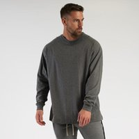 Men's T-Shirts T Shirt Mens Fashion Streetwear Hip Hop Fitness T-shirt Spring Brand Gym Clothing Workout Tshirt