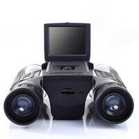 "Camcorders 12x32 Digital Telescope Camera 2.0"" LCD Screen Binocular HD Audio Video Po Outdoor Recording"