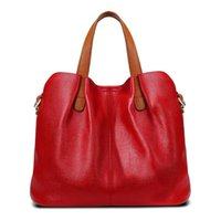 Messenger Bags Female Soft Leather New Autumn Mother Light Luxury First Layer Cowhide Large Capacity Multi Pochette Accessoires Casual Portable Shoulder Bag