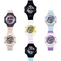 Mod Frauen UHR 30 M Wasserdicht Spor Uhren Trendy Damen Digitale Üst Marke Geschenk Açık Quarz Saatleri Saatı