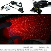 Interior&External Lights LED Car Atmosphere Galaxy Light Romantic Projector Starry Sky Night For Roof Room Ceiling Decor Sound Control