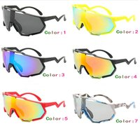 Fashion Outdoor cycling glasses men sunglass big frame sport polarized sunglasses women 10pcs lot (Made in China) .