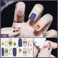 Nail Decals 3d Waterproof Long- lasting Polish Film Patch Art...