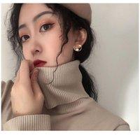 Dangle & Chandelier Bohemia Irregular Pearl Cute Layer Big Cuff Hoop Earrings For Women Minimalist Gold Color Earring Jewelry