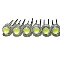 100 pçs / lote branco 5mm f,5 chapéu de palha diod candelabro lâmpada de cristal grânulos grande núcleo chip 6-7lm luz emitindo diodos leds luzes diy