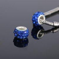 Bricolage accessoires décoratifs argile douce perle perforée perle à la main Shambhala bille Bijoux de boule de diamant perles en vrac