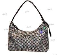 Designer Top diamond Women's Re-edition 2000 tote Nylon leather Shoulder Bag Luxury Designer Crossbody s Handbag