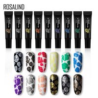 PerfectionsRosalind Nail Stamping Gel Polonês Impressão Híbrida Laca Vernis Semi Permanente UV Prego Prego Nails Art Manicure Print Plate