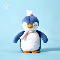 Penguin Doll of Kids Toys Blue Cute Sleep Plush Dolls with Soft Plush Toy Baby Birthday Gift New Friendly Pillow