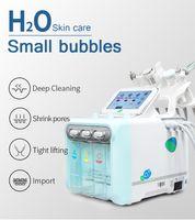 NV-W05X H2O2 6 في 1 فقاعة صغيرة أكوا تقشير الجلد الغزيرة البثرة المزيل فراغ هاتي آلة للوجه