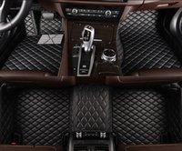 فلاش حصيرة عالمية سيارة الحصير الكلمة لجميع النماذج السيارات المضادة للانزلاق منصات القدم السجاد السيارات يغطي التصميم