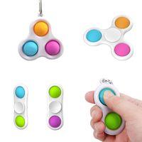 Einfache Dimple Fidget Toys Anti Stress Relief Hirn Spielzeug Hand Zappeln Spielzeug für Kinder Erwachsene Frühe Pädagogische Autismus