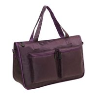 Duffel Bags Nylon Alta Qualidade Mulheres Bagagem Bag 2021 Portátil Dobrável Viagens Tote Weekender Bolsas Casuais 30% Off T437