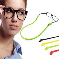 Silikongläser Kette Sport Tauchen Wasserdichte Gurt Sport Startseite Brillen Sonnenbrille Schnur Halter Kinder Erwachsene Brillen Zubehör WLL655