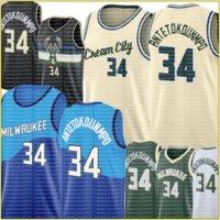 Yeni Giannis 34 Antetokounmpo Jersey Retro Mesh Basketbol Formaları 9999