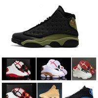 Chicago Flint Hyper Royal 13 Chaussures Il a eu un jeu élevé Histoire de vol 13s Hommes Sports Sneakers Bottes pour la vente en gros