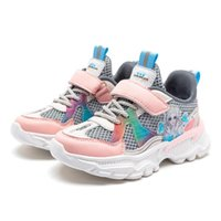 Athletic & Outdoor Kids Sports Sneakers High Quality Boys Gilrs Running Footwear Children Cute Princess Spring Autumn Comfortable Shoes