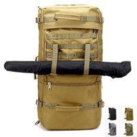 Tactical Multi-purpose Unisex Backpack Large Capacity Luggage Outdoor Travel Men's Messenger Bag