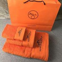 Asciugamani di cotone unisex Moda Asciugamani di alta qualità Set di asciugamani di alta qualità Classic Design Branded Letter Embroidery Home Bath