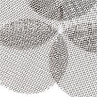 Glasraucher-Pfeife-Bildschirme mit 20-mm-Splitter-Stahl-Ccreen-Filter-Bildschirm für trockene Herb-Tabak-Glasschüsselhalter Rauchen 5 Stück / Satz 435 R2