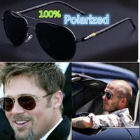 Polarized Pilot Round Sunglasses For Men Classic Fashion Driving Decorative Women Shade Glasses Designer Sun Glass