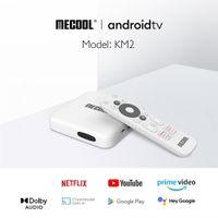MeCool KM2 4K HD TV Box Android 10 ATV Amlogic S905x2 2GB DDR4 Prime Video HDR10 Widevine L1 TVBox VS Mibox