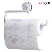 Кухонные аксессуары Инструменты для хранения держатель вакуумной присоски бумажный полотенце стойки стена висит ролика полка ванны гаджеты продукта оптом