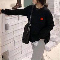 Maglioni da donna con uova modello ricamo con cappuccio lana unisex top felpe maglie maglie camicie primavera autunno outwears taglia S-3XL