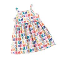 الصيف إلكتروني مطبوعة اللباس طفلة ملابس 2-7 سنوات الأميرة زي الرضع الفتيات الطفل حفلة عيد اللباس