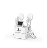 Machine de sculpture au corps HIEMT EMS de HIEMT EMSLIM non invasive 4 poignées Stimulateur musculaire Bâtiment de beauté amincissant