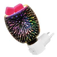 مصابيح العطر ثلاثية الأبعاد شمعة الزجاج الدفء للمكاتب المنزلية (الولايات المتحدة القابس متنوعة متنوعة)