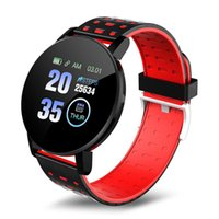 119 plus 119plus Smart Watch wristband Blood Pressure Round Bluetooth Smartwatch Waterproof Sports Tracker for Android Ios