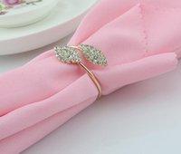 Dhl لامعة الكريستال الماس الذهب منديل الدائري التفاف serviette حامل الزفاف مأدبة حزب عشاء الجدول الديكور ديكور المنزل