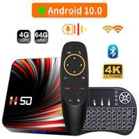 2021 Fast TV Box Andriod 4K Smart TV Box RK3318 Android 10 4G 64GB 32GB BT4.0 2.4G&5G WIFI Set Top Box