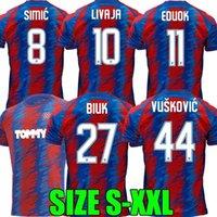 2021 2022 Hajduk Split HNK Futebol Jerseys Eduuok Simic Livaja Home 21 22 Camisa de Futebol