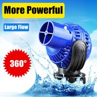 Aquarium Wave Maker Pump Single Double Head,360dergee Adjustable Direction Seawater Freshwater For Fish Tank Surf Air Pumps & Accessories