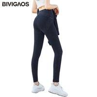 BIVIGAOS Kadınlar Elastik Push Up Kot Yüksek Bel Şekillendirme Kalem Pantolon Ince Skinny Jeans Jeggings Seksi Tayt Fitness için