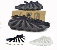 2021 authentique 450 nuage blanc H68038 Chaussures de plein air Mens skark Skinkers Baskets de runneur noir avec une boîte originale 36-46