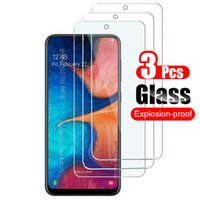 3PCS Protective Glass For Samsung Galaxy A 52 A02 A12 A22 A32 A42 A52 A72 M12 M32 A21S A31 A51 A71 M21 M31 Screen Protector Film