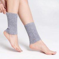 Scaldeli della caviglia di lana Donne autunno inverno inverno a coste knit caldo stivale morbido match gattatura fedeltà Unisex foot sleeve calzini calzini calzini hosiery