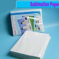 Papiers 100 feuilles A4 Taille Papier de transfert de chaleur de sublimation, papier 100gsm, utilisation en vêtements, t-shirt, tasse, oreiller, etc. AC8J