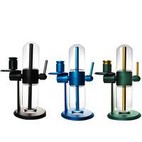 Kekse Dr Greenthum Gravity Bongs Elektronische Zigaretten Kits Glas Wasserleitung Öl DAB Rigs für Recyclinghaarungen Trockenkräuter-Konzentrate Shisha Tabak