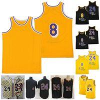 Puan 8 Jersey Mamba Vintage Dikişli Adı Numarası Basketbol Formaları 1978 2020