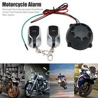 Nuevo control remoto DUAL Seguridad Motocicleta Robo de protección Bicicleta Moto Scooter Motor Sistema de alarma