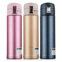 304 Frascos de vacío de acero inoxidable Bounces Cups portátiles Botellas de agua de negocios 500ml Moda Bounce BOUPTTLE BOTTLE por mar OWEE9896